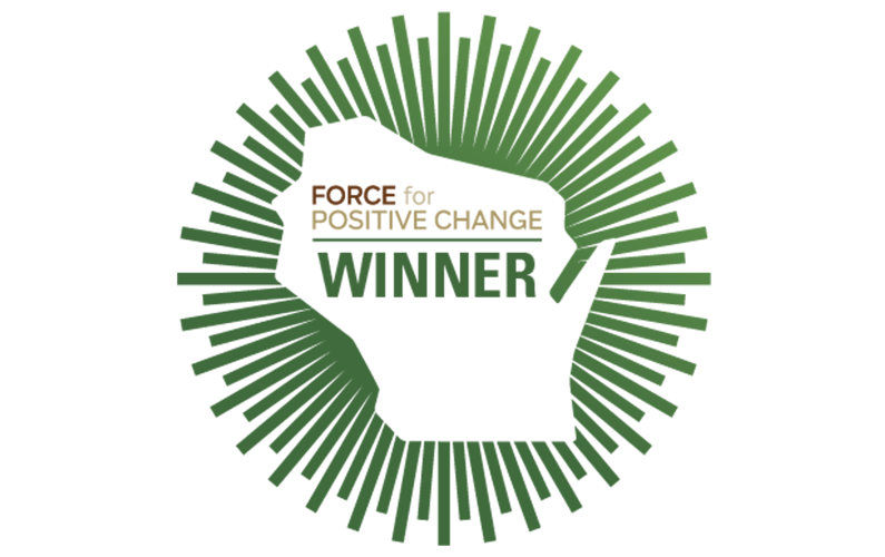 SOAR FOX CITIES' MAKE I.T. SOAR PROGRAM AWARDED FORCE FOR POSITIVE CHANGE AWARD