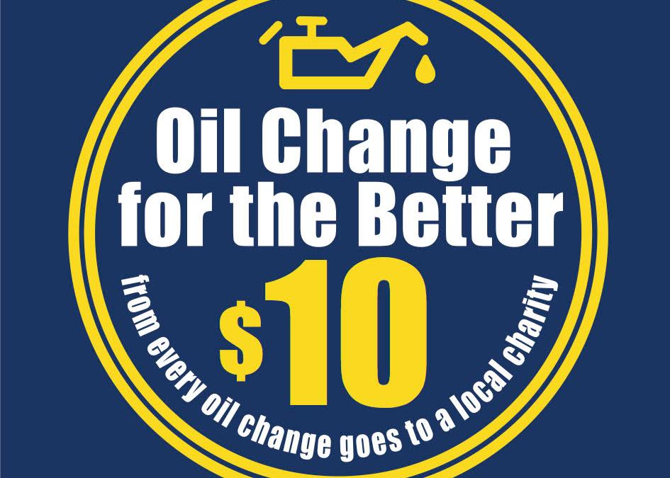 Matthews Tire to Host Oil Change for the Better October 22-27, 2018